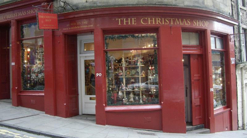 Tienda de artículos de Navidad