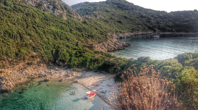 Porto Timoni, Corfu, Grecia