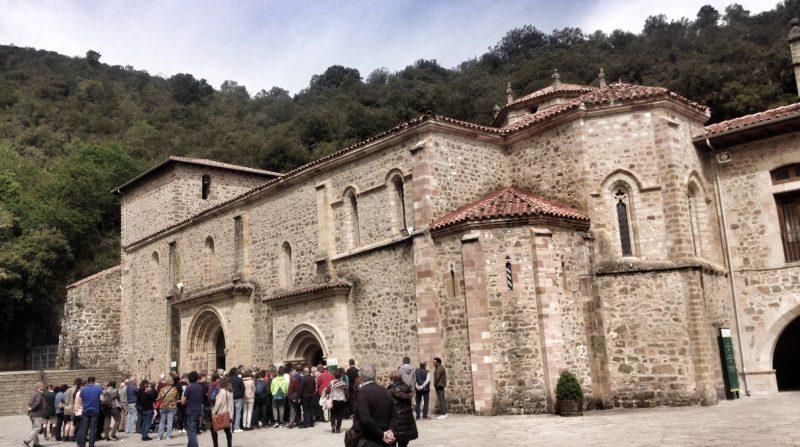 Camino Lebaniego, Potes, Liebana, Cantabria, Santo Toribio