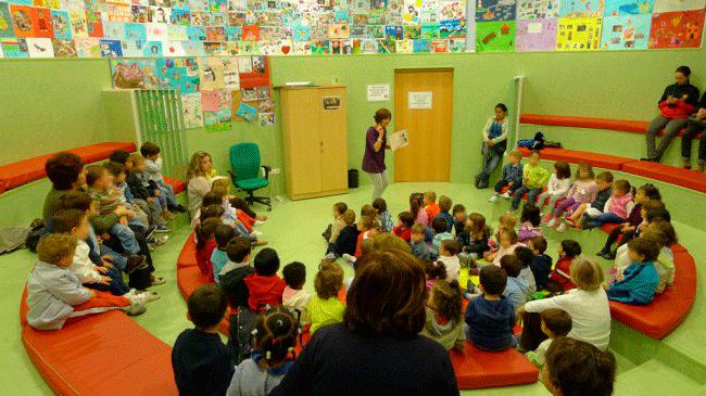 Día del Libro en la biblioteca Francisco Ayala