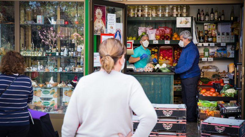 Comercio de los barrios de Granada corona virus